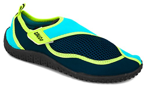 Aquaschuhe als Meer Wasserschuhe Schutz Strand Für Navyblau As26 Ideale Füsse Speed Blau Badeschuhe Für Grün See Aqua CzqRwT5xn