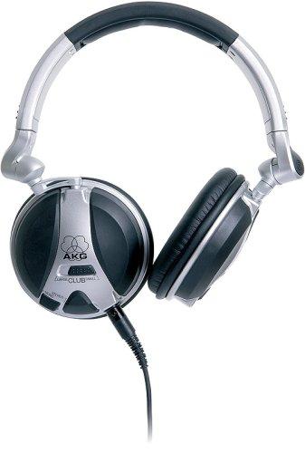 AKG High Performance Closed-Back DJ Headphones - (High Performance Dj Headphones)