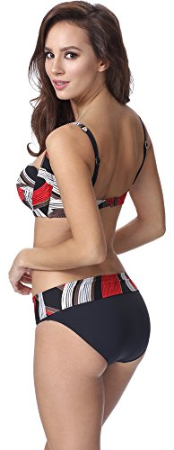 Feba Mujer Moldeadora Cuerpo Bikini F13 2 Patrón-13DK