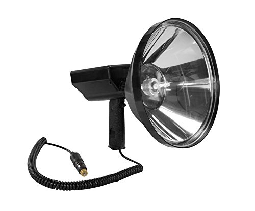 45 Million Candlepower Handheld Spotlight - 10'' Lens - 80 Watt HID - 7200 Lumens - Spot / Flood(-21' Ring Terms) by Larson Electronics