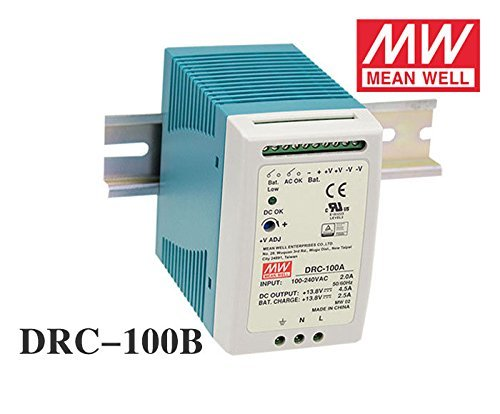 MEAN WELL DRC-100B 96W 24-30V AC...