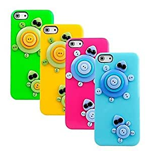 LIMME Tortoise Resin Hard Case for iPhone 5/ 5S(Assorted Colors)