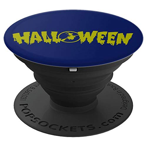 Witch Broomstick Halloween gift present - PopSockets Grip and Stand for Phones and Tablets for $<!--$14.99-->
