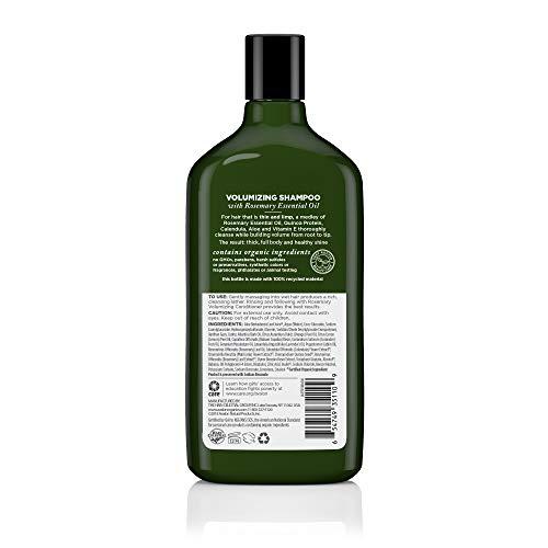 Buy organic volumizing shampoo