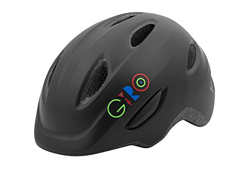 Giro Boys Bicycle Helmet - Giro Scamp Bike Helmet - Kid's Matte Black Small