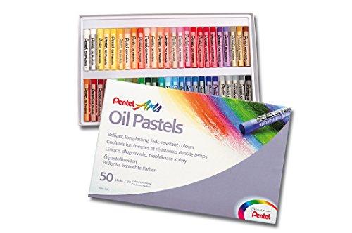 Pentel Ölpastellkreide Set à 50 Stück
