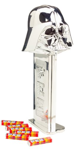 Star Wars GIANT PEZ ~ SILVER DARTH VADER ~Limited Edition -