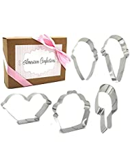 Ice Cream Cookie Cutter - American Confections - Ice Cream Sunday, Ice Cream Cone, Popsicle - Set of 5
