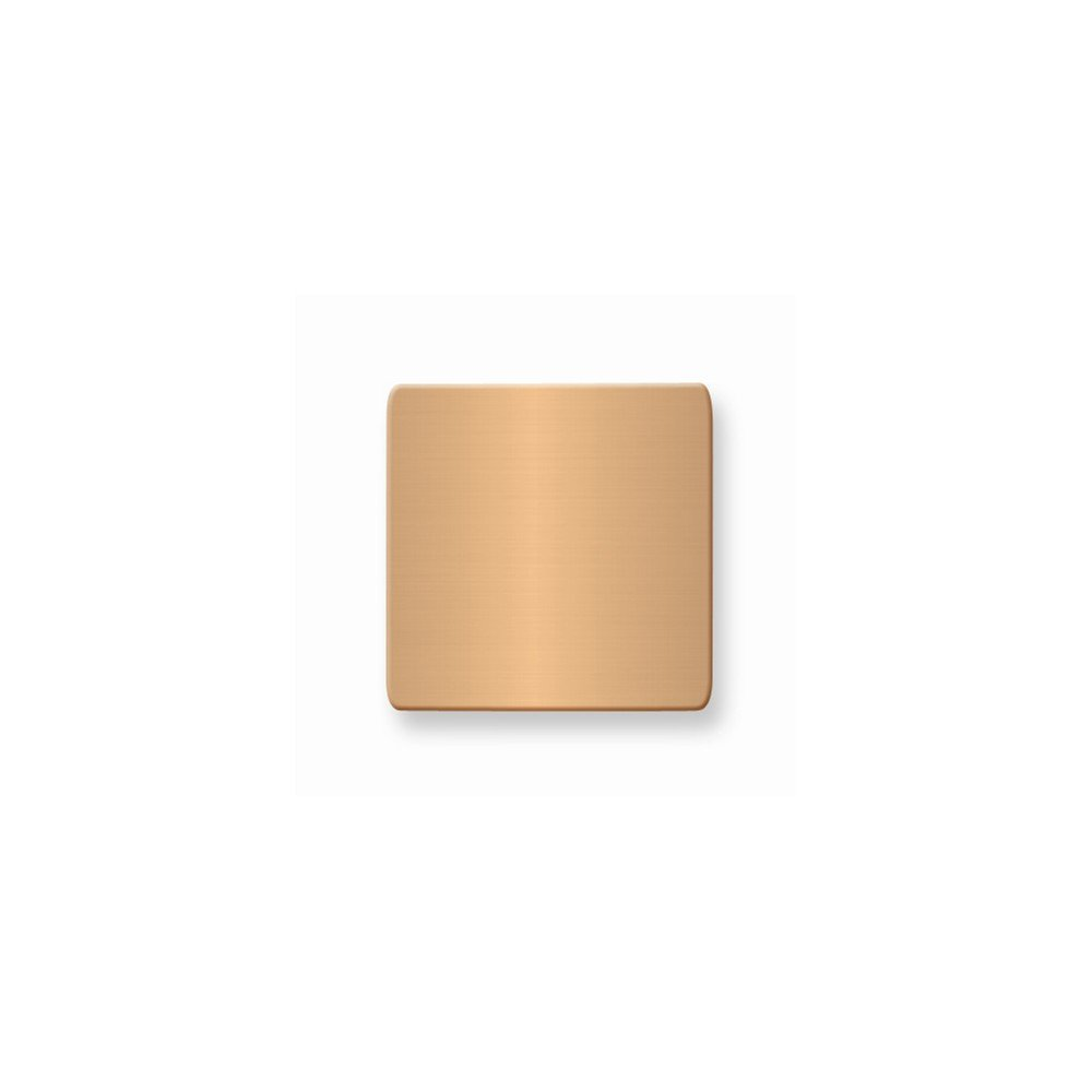 1 x 1 Square Copper Alum Plates-Sets of 6