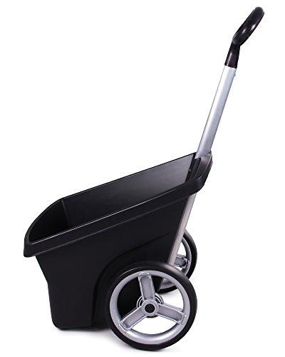Transportkarre Zweirad Schubkarre Kunststoff Gartenkarre Trolley Carrellino 67 Liter