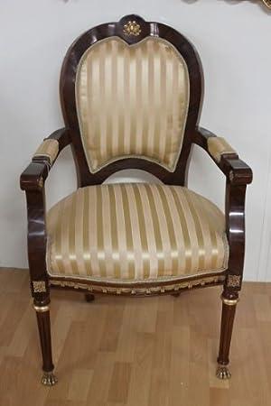 LouisXV Barroco rococó fauteuille silla MoCh0669HzBgSt ...