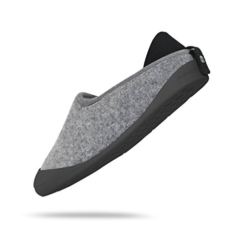 mahabis Classic Slippers Grey Light Grey/ Skien Black VkcAql