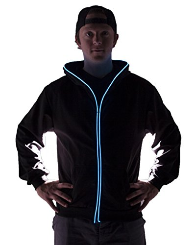 Light up Hoodies (X-Large, - Led Sweatshirt