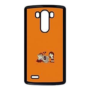 LG G3 Cell Phone Case Black_Geek Love FY1451217