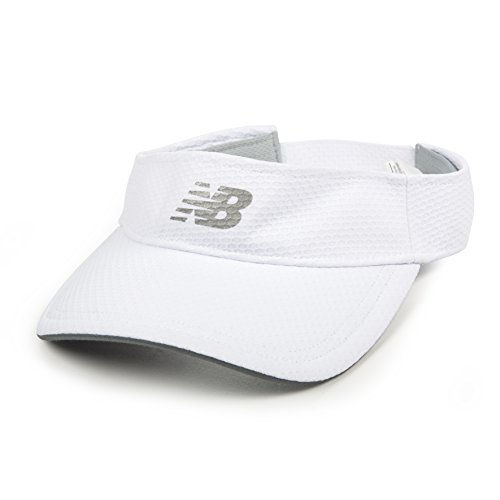 New Balance Performance Visor, White, One Size ()