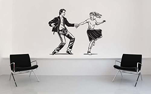 Falda de caniche calcomanías de pared lindas zapatos de silla de ...