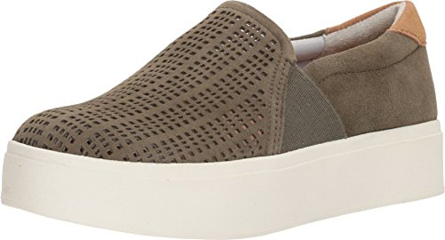 (Dr. Scholl's Womens Abbot - Original Collection Green Suede Perf/White 7.5 M)