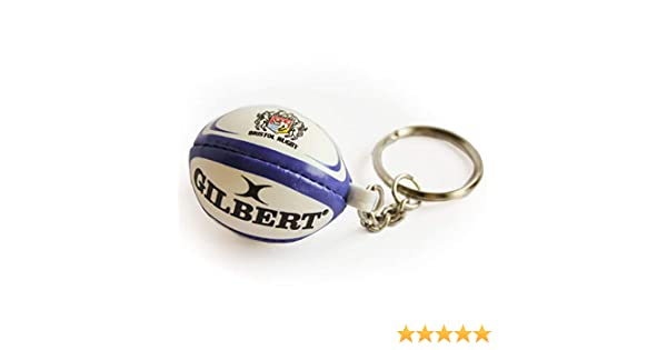 GILBERT bristol rugby ball key ring: Amazon.es: Deportes y aire libre
