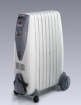DeLonghi KG010715R - Radiador de aceite, 1500 W, color gris: Amazon.es: Hogar