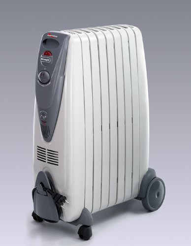 DeLonghi KG010715R - Radiador de aceite, 1500 W, color gris product image