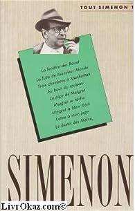 Tout Simenon par Georges Simenon