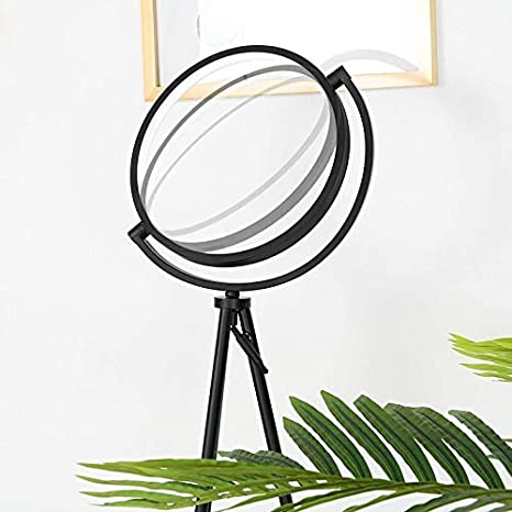 Black FADACI LED Floor Lamp USKLL050F Tripod Standing Floor Lamps for Living Rooms Bedrooms and Offices Modern and Unique Design,16 wattage Warm Lighting