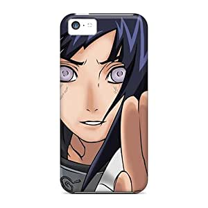 Excellent Hard Cell-phone Case For Iphone 5c With Custom Lifelike Naruto Shippuden Hyuuga Hinata Pictures AlissaDubois