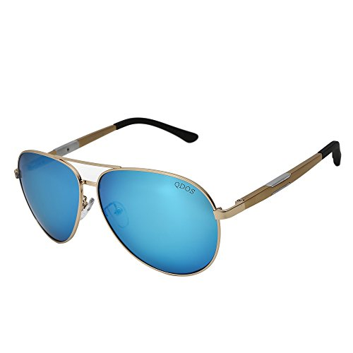 Sunglasses Aviator Polarized for Men and Women TRANSFORM your Face Aluminum-Magnesium Alloy Frames Beautifully Tinted Lenses for that Stunning, Movie Star Look! (Blue, - Blue Tinted Sunglasses Aviator