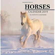 Horses Calendar 2019: 16 Month Calendar