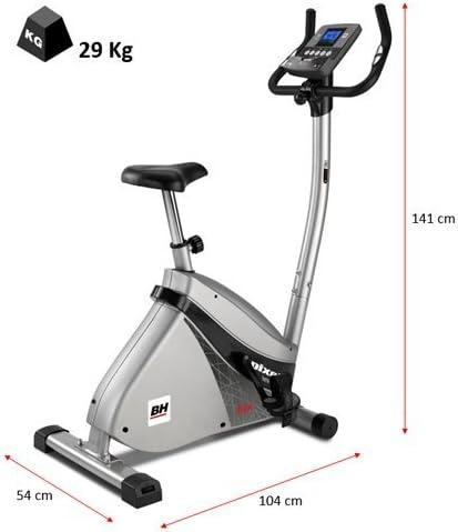 BH Fitness Pixel Program H495 - Bicicleta estática, 12 programas ...