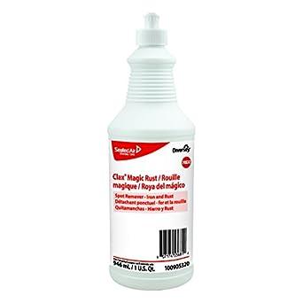 Diversey 100905320 Clax Magic Rust 6 x 32 oz./946 mL Squeeze Bottles,