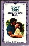 Make-Believe Bride, Nancy John, 0671571923