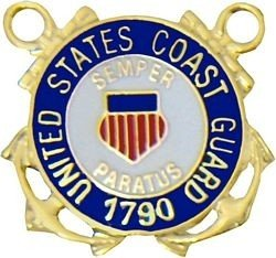 Coast Guard Lapel Pin (Guard Lapel Pin)