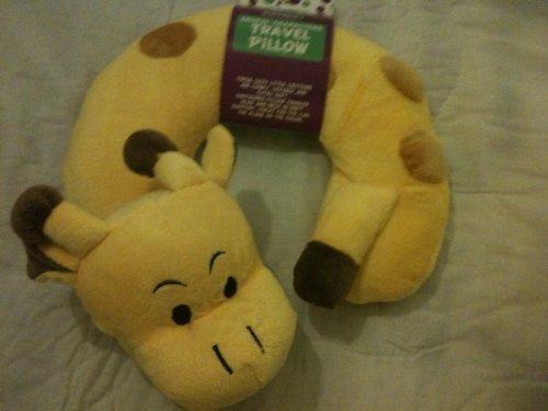Giraffe Animal Characters Travel Pillow