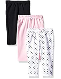 Hudson Baby Unisex-Baby Baby Cotton Pants, 3 Pack