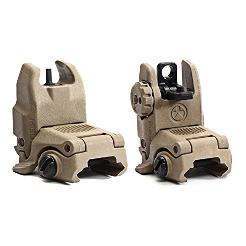 Magpul Industries USA MBUS Front & Rear Flip Up Backup Sight GEN 2 – 247-248 Made In The USA