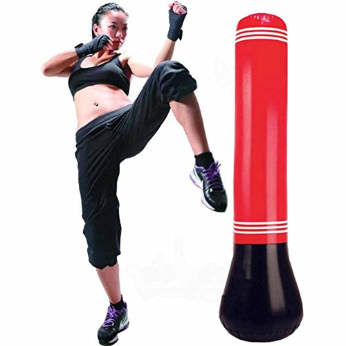 C360 Inflatable Tumbler Training Fitness Boxing Sand Bag Hanging Kick Fight Bag Punching Bag