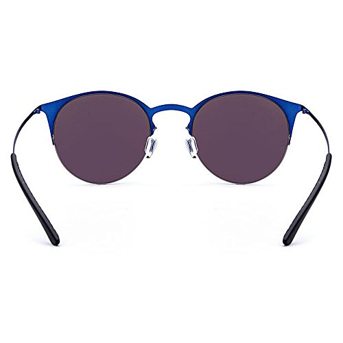 de gato ligeras de aire para la sol de mujeres TR90 la al libre ULTRAVIOLETA de sol protección de de gafas de ojos sol Azul Azul del las los conducción las la Color playa marco Gafas de gafas de qE0SwS