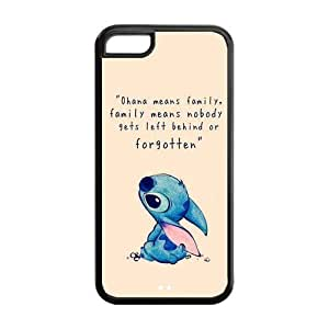 Iphone 5c Case Lilo & Stitch Inspired Design TPU Case Back Cover For Iphone 5c iphone5c-NY1369