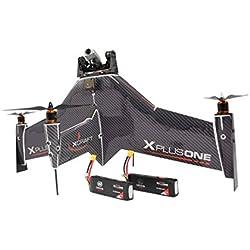 Xcraft XPlusOne Quadcopter Drone X PlusOne HD Pro: X PlusOne + Runcam HD + Gimbal + 2 Extra Batteries