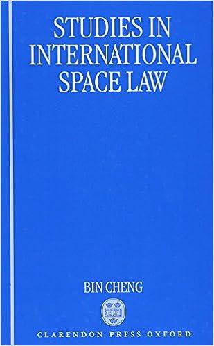 Studies in International Space Law: Amazon co uk: Bin Cheng
