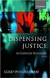 Responses to Crime, David Windlesham, 0199247412
