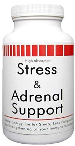 Nouveaux produits de santé Stress & surrénale Support (90 comprimés)