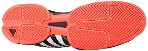 Adidas Performance Mens Barrikad 2015 Tennis Sko Svart / Vit / Sol Röd