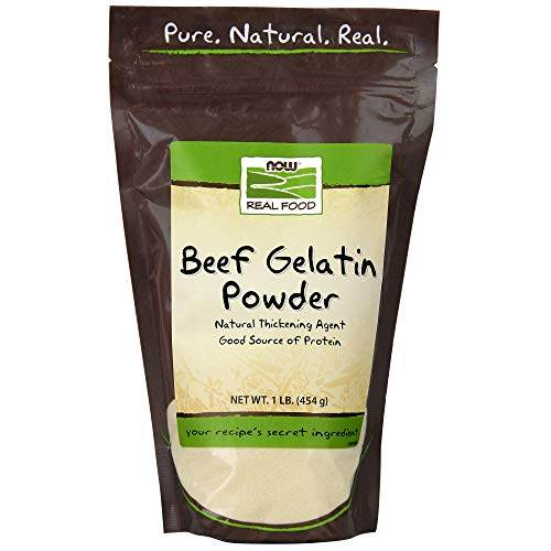 (Now Foods Beef Gelatin Natural Powder 1 lb)