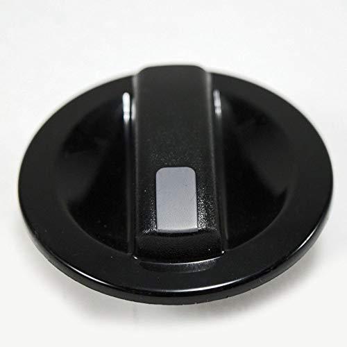 154477803 Dishwasher Timer Knob Genuine Original Equipment Manufacturer (OEM) Part Black