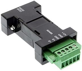 amazon com rs232 to rs485 serial converter terminal block home