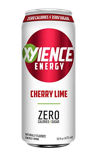- XYIENCE Energy Drink   Cherry Lime   Sugar Free   Zero Calories   Natural Flavors   Vitamin Fortified   16 Ounce (Pack of 12)