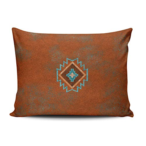 WEINIYA Home Decoration Design Pillow Case Rust Southwest Canyons Throw Pillowcase Custom Cushion Cover Lumbar 12X20 Inches One Sided Printed (Set of 1)