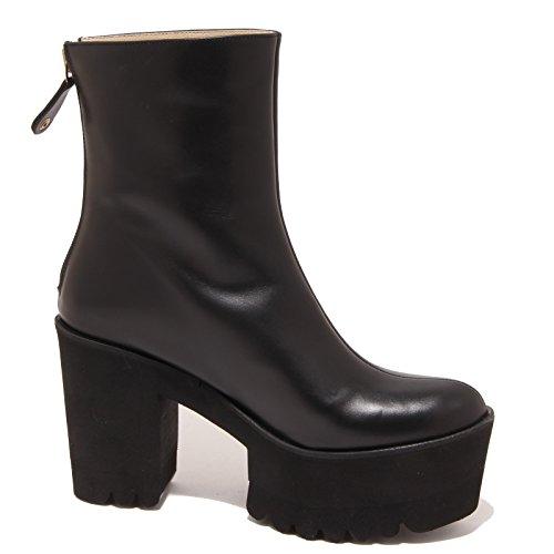 Donna Whitout Tronchetto Stivale Boot Nero Box Woman 2163p Palomitas Shoe ECqnwCB